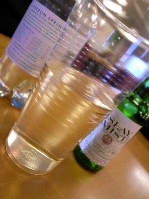スペイ川の水 x アイラのウイスキー