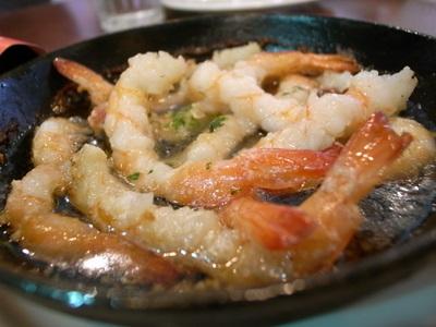 海老のオイル煮