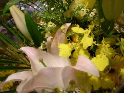 百合は好きな花のひとつ