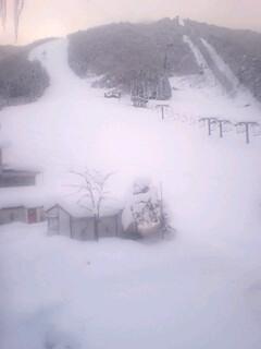 流れ葉スキー場頂上