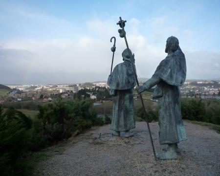 ゴッソの丘銅像20090318100622