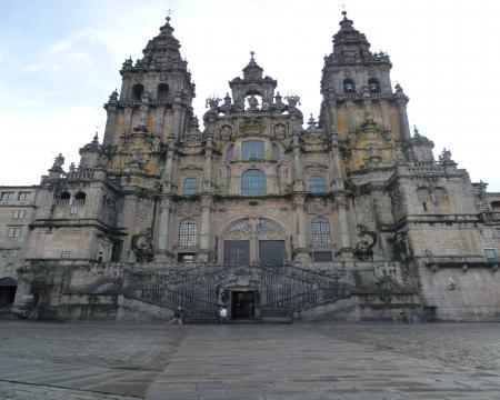 サンチャゴ・デ・コンポステーラ大聖堂正面1,20090321170324