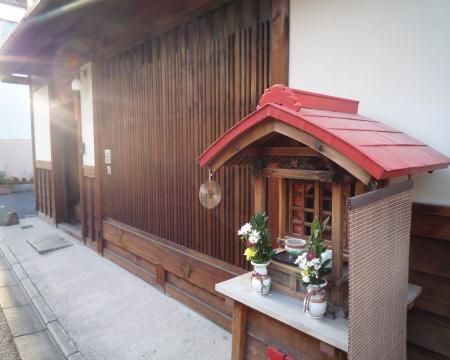 京町屋の格子20090421220401