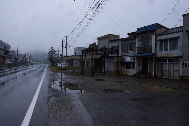⑦花岡鉱山旧繁華街