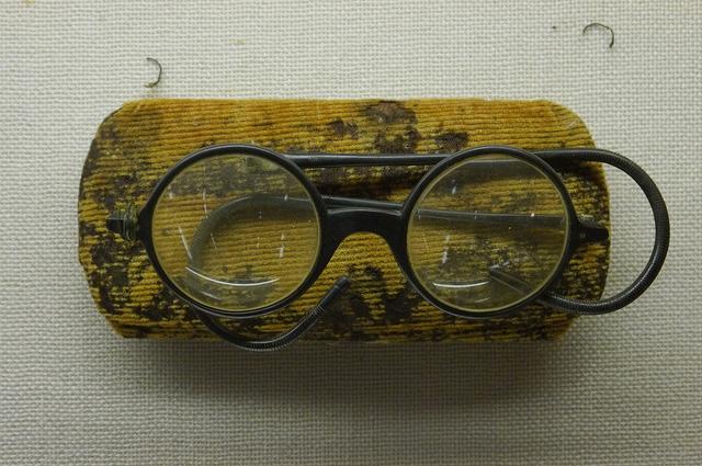 ⑬1944年北京陸軍病院で亡くなった伍長の眼鏡