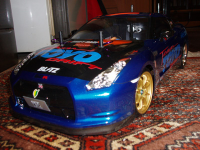 TEAM TOYOwithKOSMO GT-R