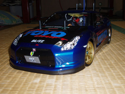 TeamTOYOwithKOSMO GT-R