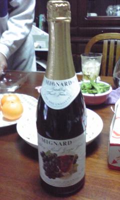 グレープワインジュース