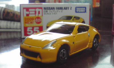トミカ日産フェアレディZ(Z34) 1