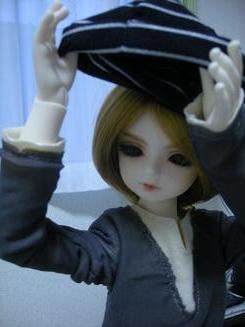 帽子をかぶりたい