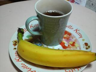 コレ食しました バナナ・ウーロンチャ
