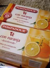 オレンジの紅茶