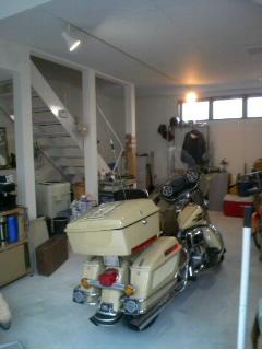 あるガレージ