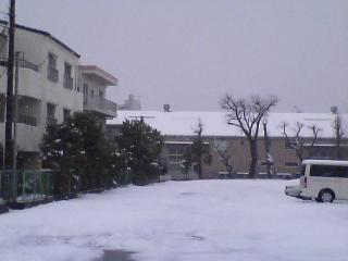 2008.2.4駐車場