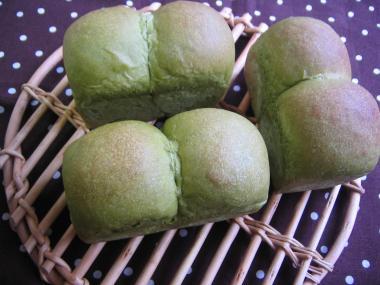 抹茶ミルク ミニ食パン