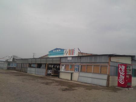 海の家@中里海岸