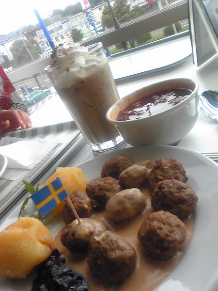 ミートボール@IKEA