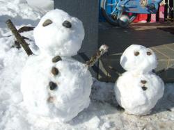 090131雪だるま