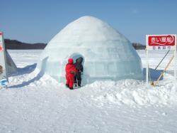 090302氷のかまくら