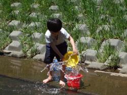 090627水遊び②