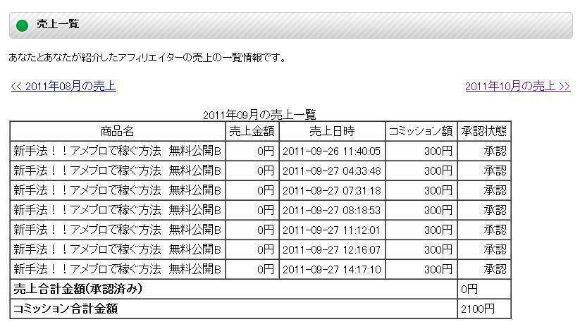 IBS affiliate 9月