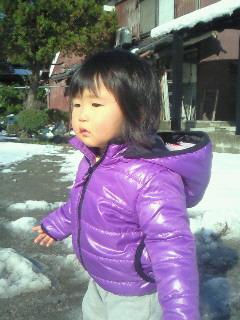 妃咲 米子で雪