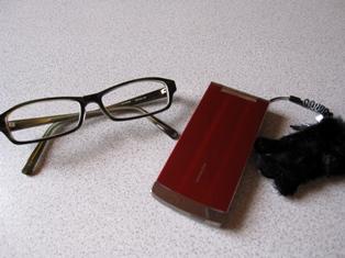 携帯&眼鏡