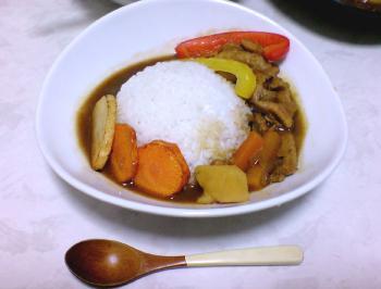 081209_素揚げ野菜カレー