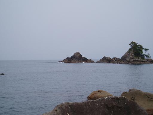 日蓮さんの見ている海