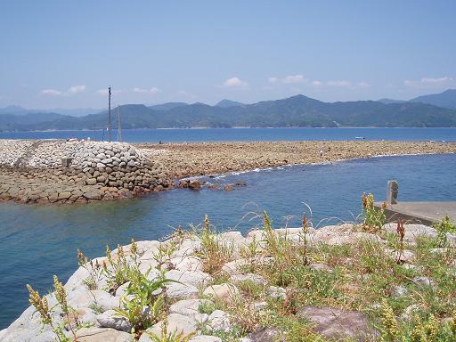 出羽島港入り口