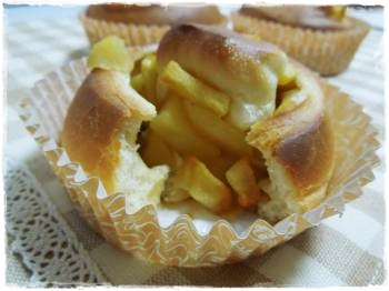 りんごパン③