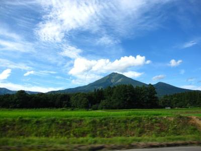 会津磐梯山は~