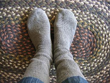 リネン靴下-B