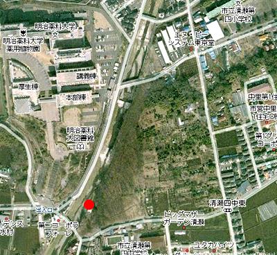 清瀬梅坂橋地図