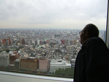 東京都庁の窓