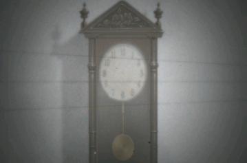 針のない時計