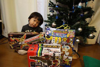 プレゼント2008