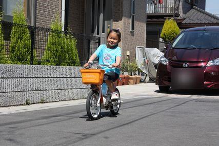 自転車遊び1