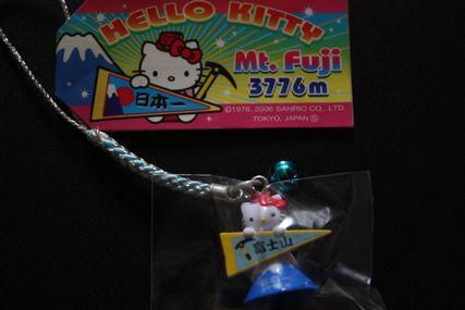 ご当地キティ 富士山