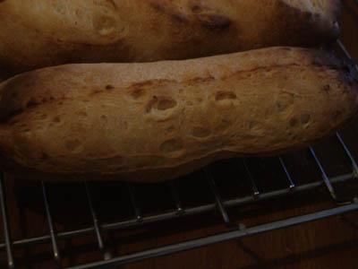 フランスパンのクープ1