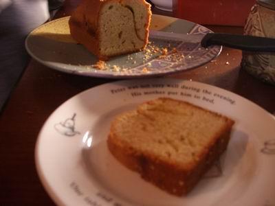 オリーヴオイルのケーキ