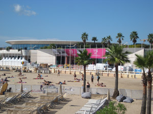 カンヌ映画祭の舞台
