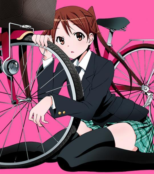 自転車少女表紙WEB