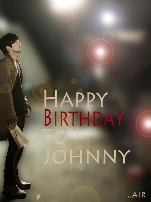 Birthday to Johnny