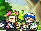 緑sの髪飾り1