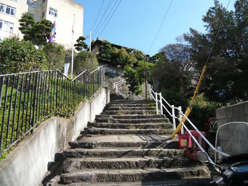 階段細道1