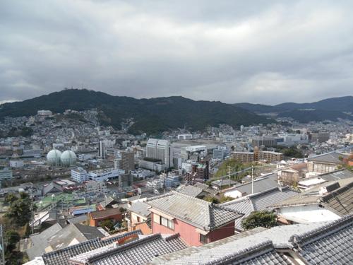 長崎市山の上から。3