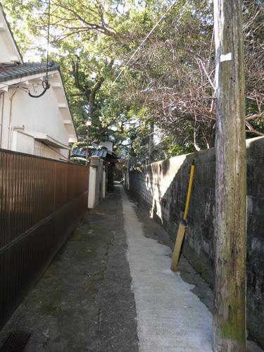 上西山の細道2