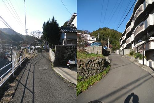 西山の細道たち3