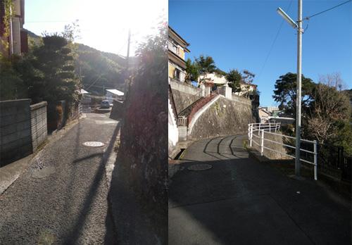 西山の細道たち4